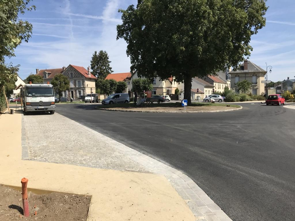 Réaménagement de la place du Marronnier - Lamorlaye (60) - 2019